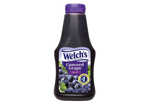 Welch's Concord Grape Jelly Squeeze, 624g