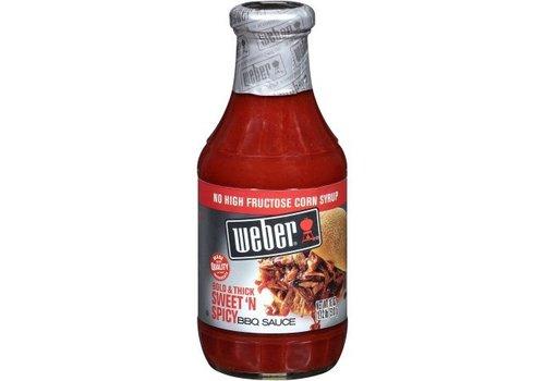 Weber Sweet Spicy BBQ Sauce, 510g