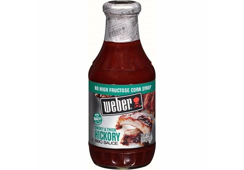 Weber Hickory BBQ Sauce