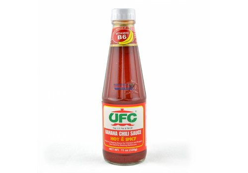 UFC Banana Chili Sauce (Hot & Spicy), 320g