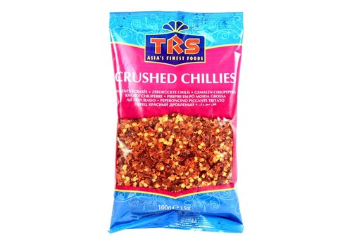 TRS Extra Hot Crushed Chillies, 100g