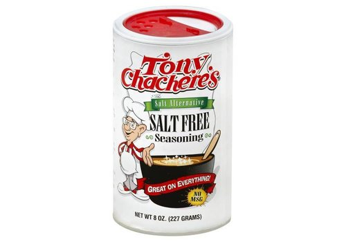 Tony Chachere's Salt Free Seasoning, 227g