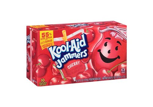 Kool Aid Jammers Cherry, 10pk