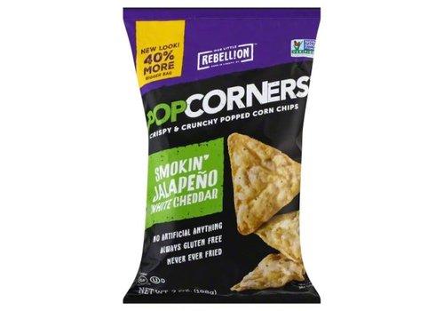 Popcorners Smokin Jalapeno White Cheddar, 198g