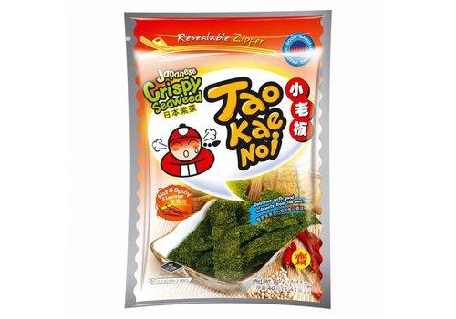 Tao Kae Noi Crispy Seaweed Spicy, 36g