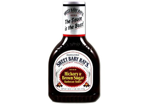 Sweet Baby Ray's Hickory Brown Sugar BBQ Sauce, 510g