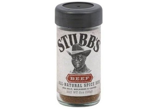 Stubb's All Natural Spice Rub Beef, 56g