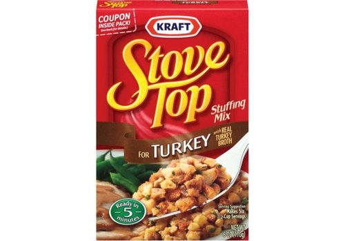 Kraft Stuffing Turkey, 170g