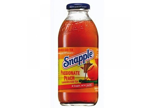 Snapple Passionate Peach, 473ml