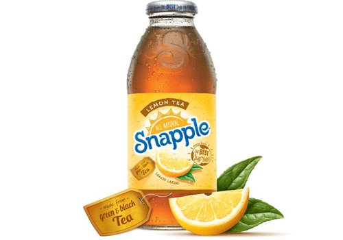 Snapple Iced Tea Lemon, 473ml