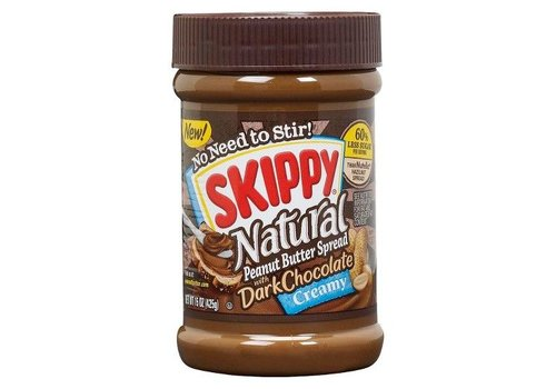Skippy Creamy Dark Chocolate Peanut Butter, 425g