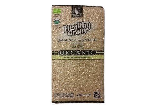 Sawat-D Organic Jasmin Brown Rice, 1kg