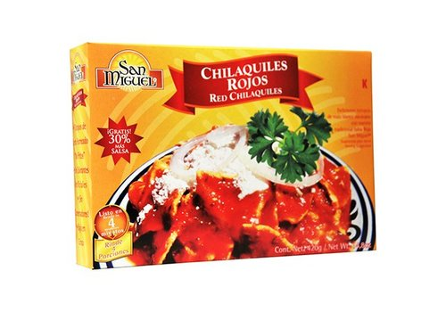 San Miguel Chilaquiles Rojo, 420g