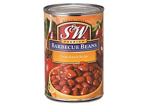 S&W Barbecue Beans, 439g