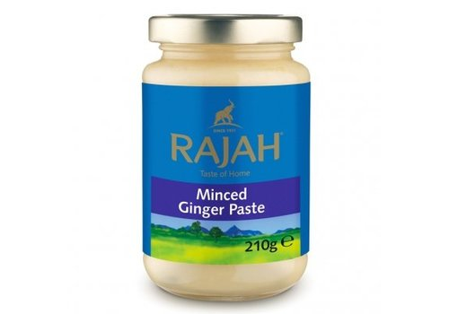 Rajah Minced Ginger Paste, 210g