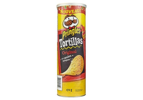 Pringles Tortillas Original, 172g