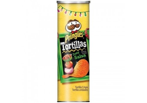 Pringles Tortilla Zesty Salsa, 182g