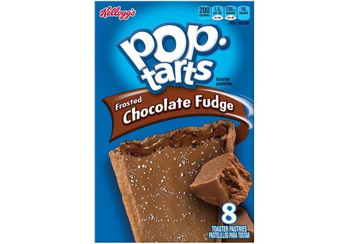 Kellogg's Pop-Tarts Chocolate Fudge, 416g