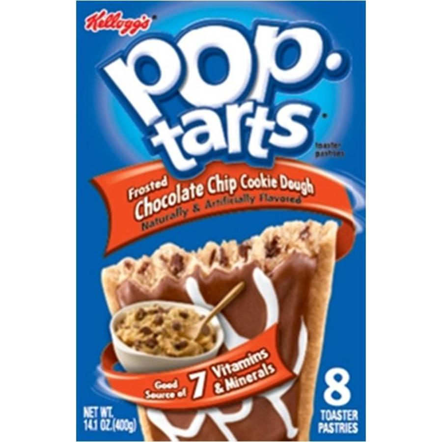 Pop-Tarts Chocolate Chip Cookie Dough, 400g