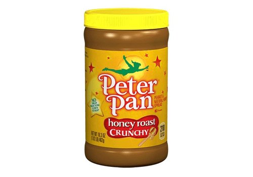 Peter Pan Honey Crunchy Peanut Butter, 462g