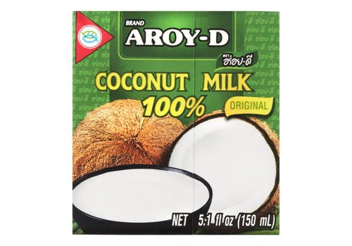Aroy-D Original Coconut Milk, 150ml