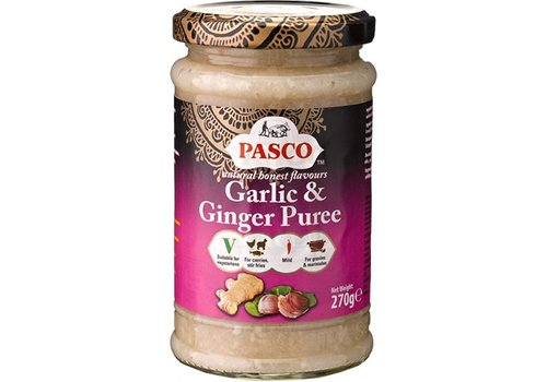 Pasco Garlic & Ginger Puree, 370g