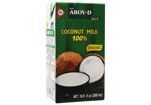 Aroy-D Original Coconut Milk, 500 ml