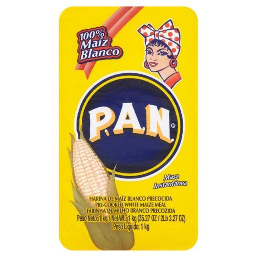 Harina PAN White Mais Flour, 1kg