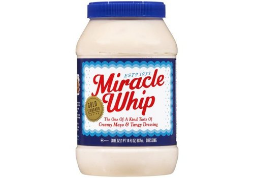 Kraft Original Miracle Whip, 887ml
