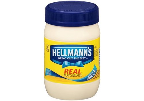 Hellmann's Real Mayonnaise, 444ml