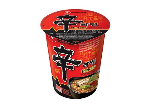 Nongshim Shin Cup Noodle, 68g