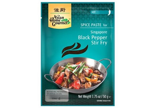 Asian Home Gourmet Black Pepper Stir Fry, 50g