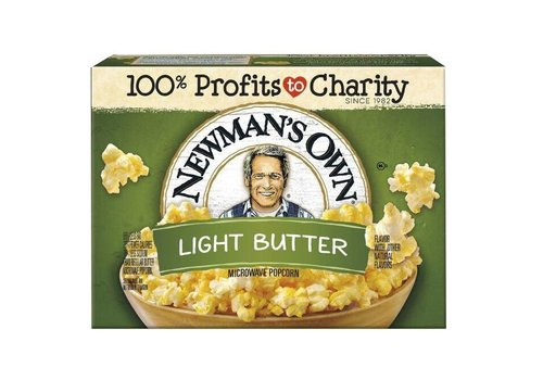 Newman's Own Light Butter Popcorn, 298g