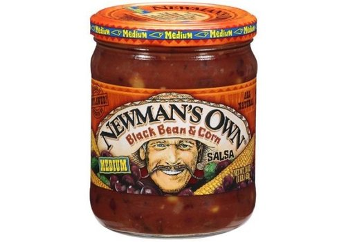 Newman's Own Black Bean Salsa, 453g