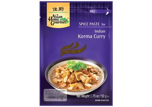 Asian Home Gourmet Korma Curry, 50g