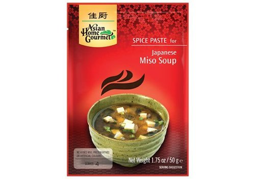 Asian Home Gourmet Miso Soup, 50g