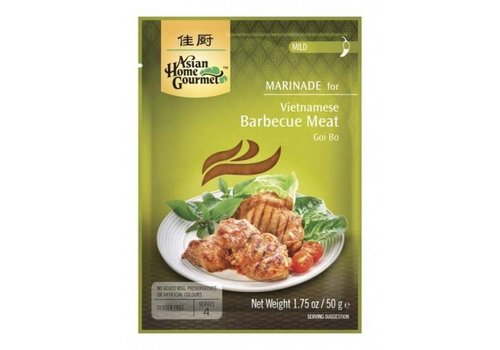 Asian Home Gourmet Vietnamese Barbecue Meat, 50g