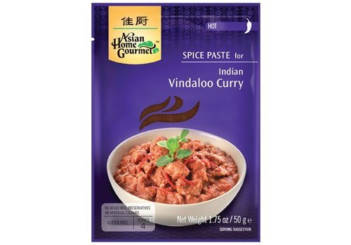 Asian Home Gourmet Vindaloo Curry, 50g