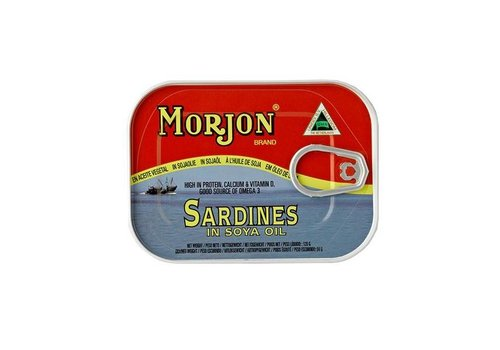 Sardines in Soya Oil, 120g