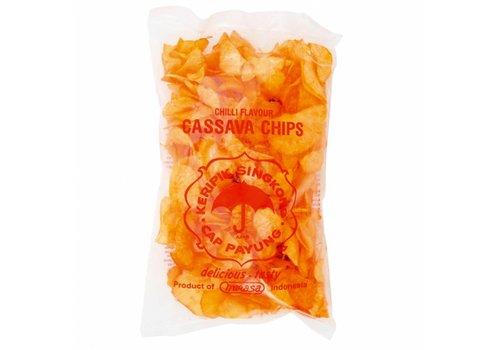 Cassava Chips Hot, 250g