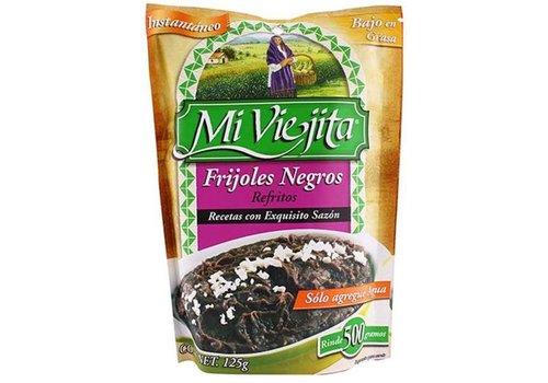 Mi Viejita Frijoles Negros Refritos, 125g