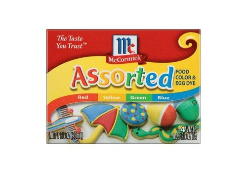 McCormick Assorted Food Colors