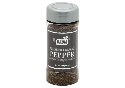 Badia Black Pepper Grinder, 64g