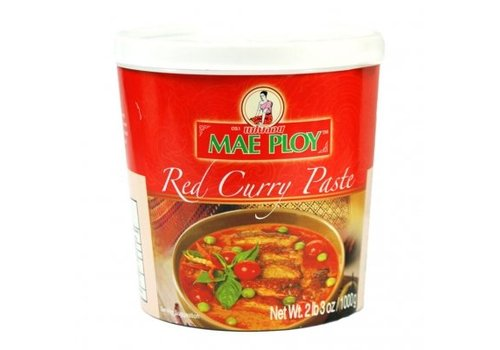 Mae Ploy Red Curry Paste, 1kg