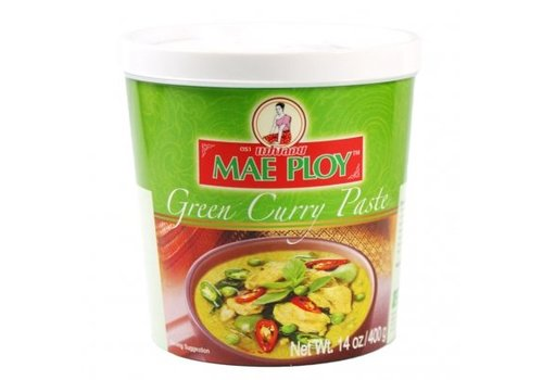 Mae Ploy Green Curry Paste, 400g