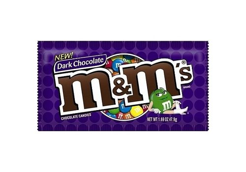 M&M Dark Chocolate, 47.9g