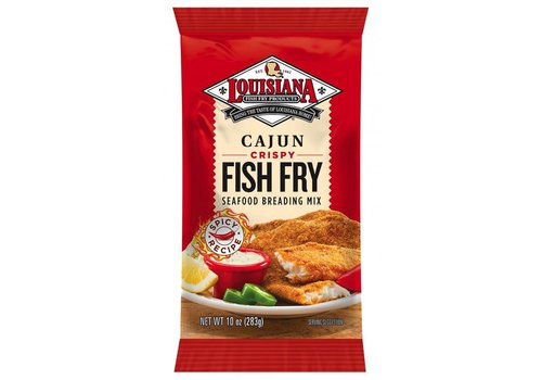 Louisiana Cajun Crispy Fish Fry, 283g