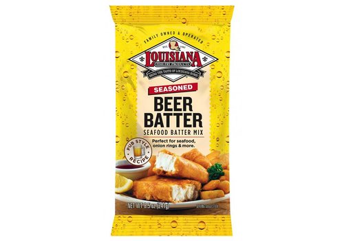 Louisiana Beer Batter Mix, 241g
