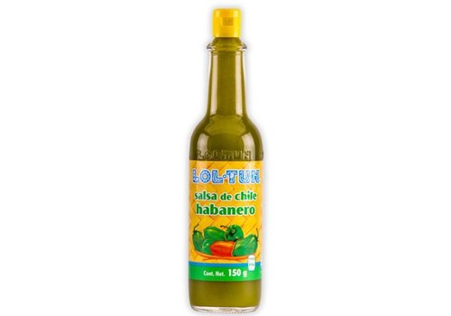 Lol Tun Salsa de Chile Habanero Verde, 150g