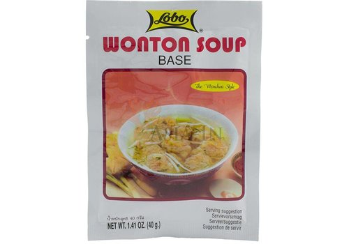 Lobo Won Ton Soup Base, 40g